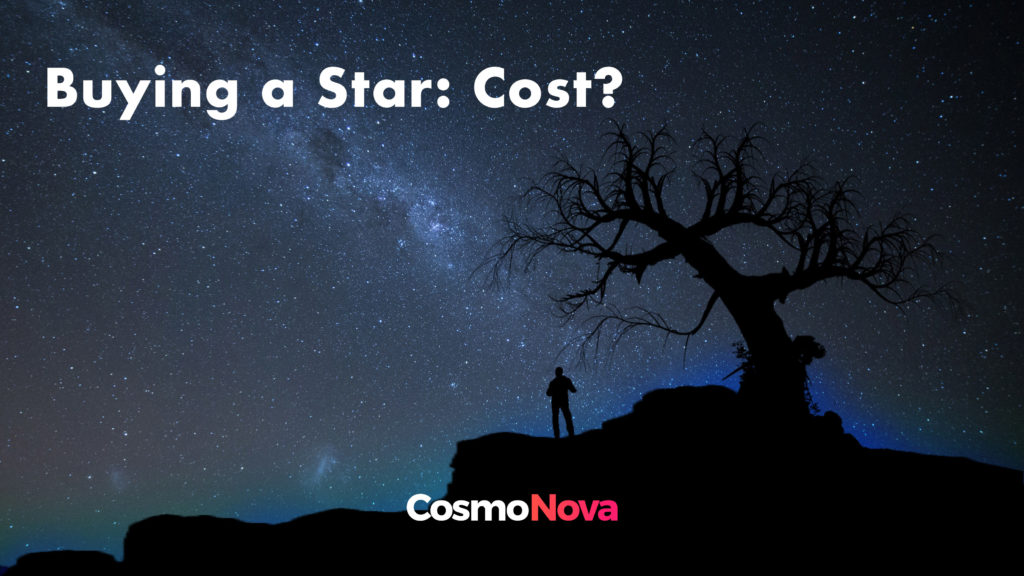 How Much Does Buying a Star Cost? - CosmoNova